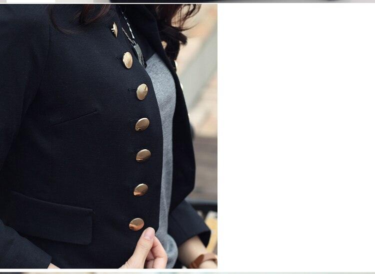 Double Breasted Jacket Women 2020 Spring OL Short Blazer