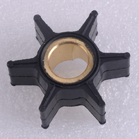 Beler черный резиновый водный насос крыльчатки Сменные кассеты-6 шт. 395289 18-3051 подходит для Джонсон Evinrude 20/25/30/35HP 2 тактный подвесной мотор