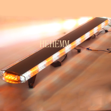 HEHEMM 136W Strobe Warning Light Bar Waterproof Flashing Beacon Emergency Lights Car Vehicles Amber