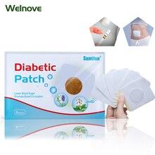 лучшая цена 10bags=60pieces Diabetic Patch Diabetes Herbal Diabetes Cure Lower Blood Glucose Treatment Sugar Balance Plaster D1794