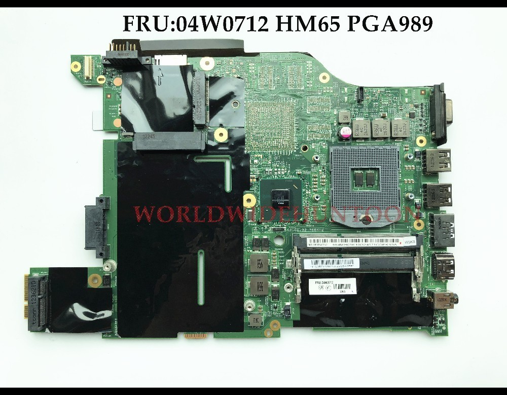 Wholesale high quality FRU:04W0712 FOR Lenovo Thinpad E420 Laptop Motherboard HM65 PGA989 DDR3 100% Fully Tested все цены