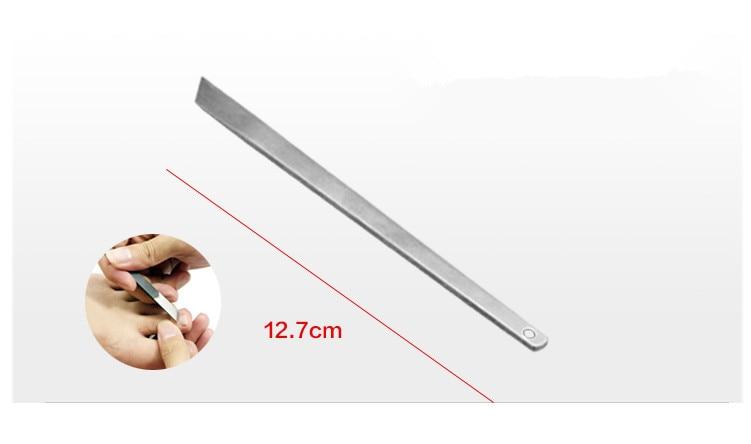 Yeni Profesyonel 7 ADET / TAKıM Ayak Tırnak Pedikür bıçak Ayak - Cilt Bakımı Aracı - Fotoğraf 5