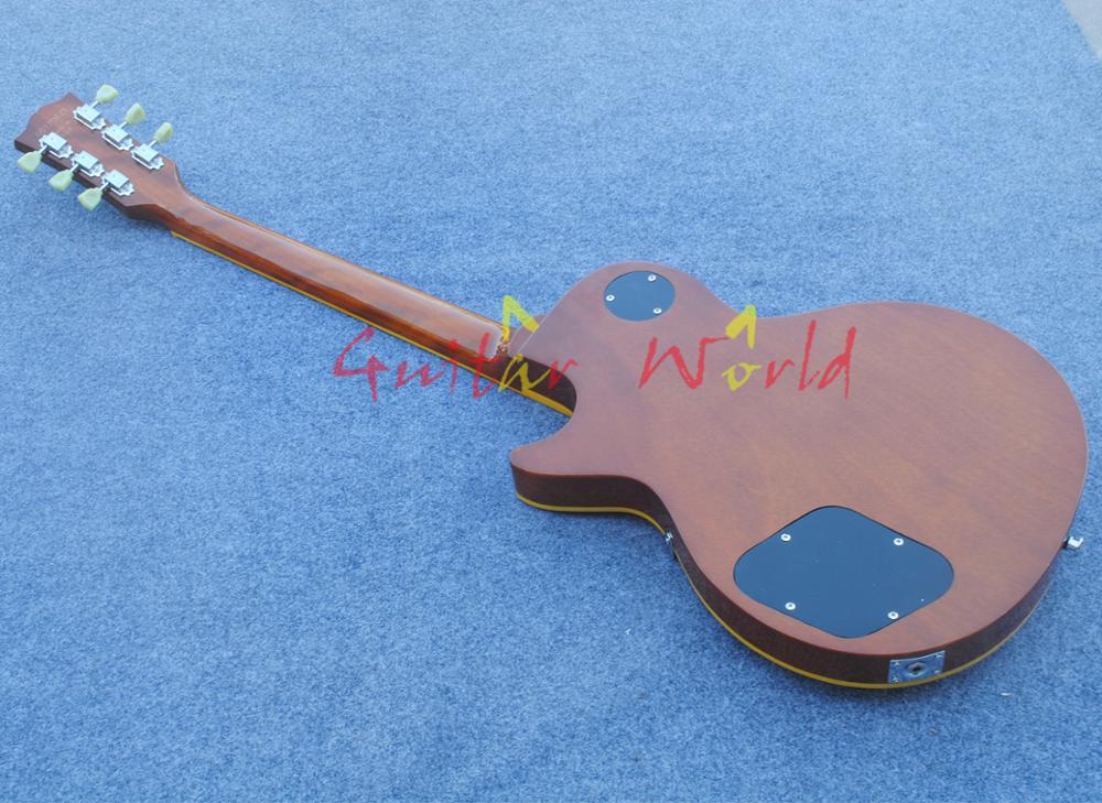 Custom shop 1959 R9 Tiger Flame electric guitar Standard LP 59 electric guitar HOT!