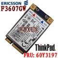 Desbloqueado Eircsson F3607GW LENOVO Thinkpad F3607GW 3 G GPS HSPA tarjeta WWAN 60Y3237 60Y3197