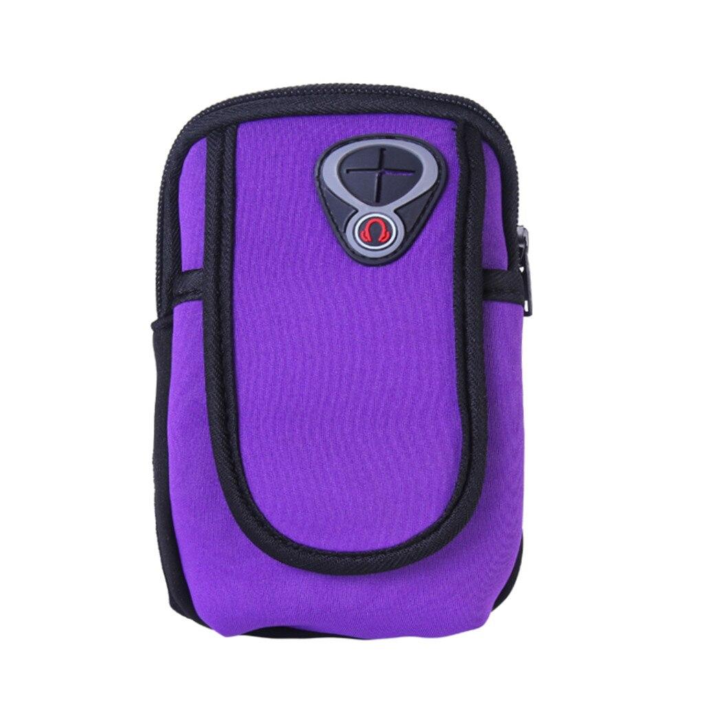 Sports Bag Running Waist Bag Pocket Jogging Portable Water Running Bag Jogging Gym Arm Band Holder Bags Mobile Phones Keys Pack