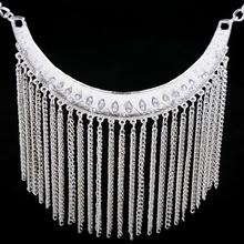 Long Choker Statement Necklaces