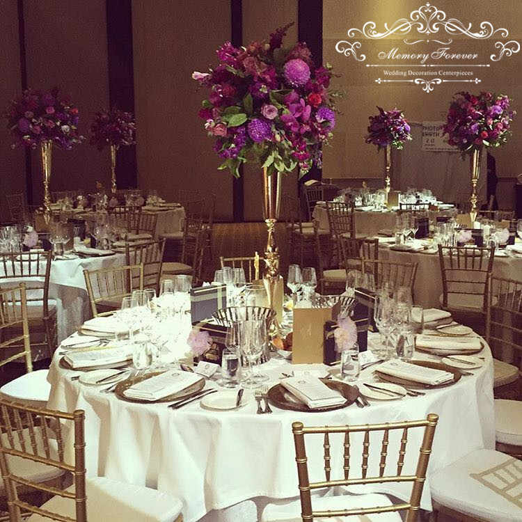 Wedding Gold Silver White Decoration