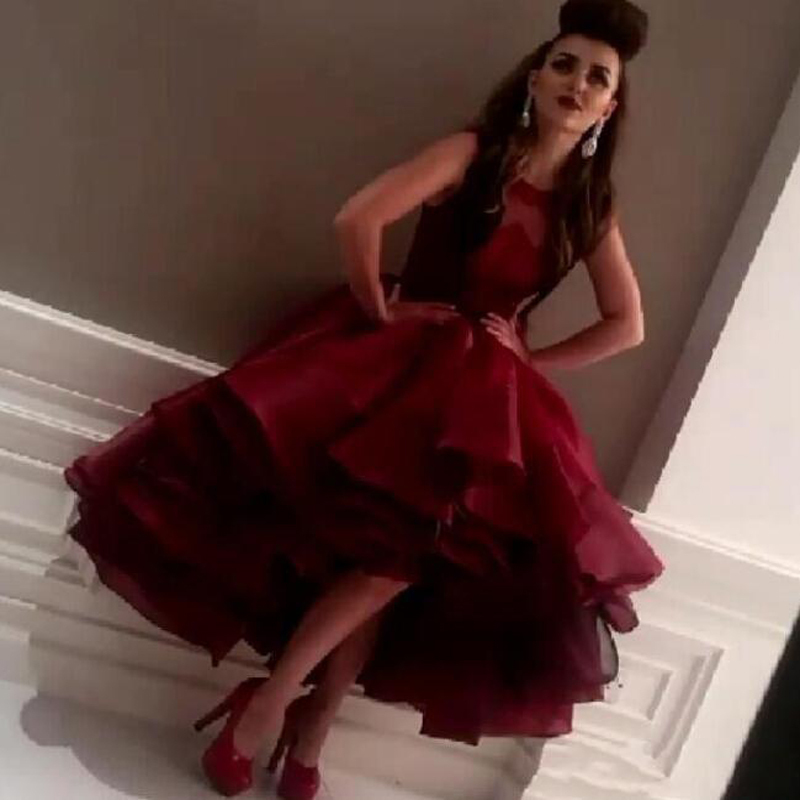 Popular Wine Red Organza Gown-Buy Cheap Wine Red Organza Gown lots ...