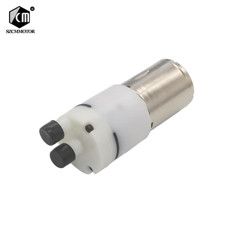 12VDC Small Water Pump Water Flow 0.6-0.9L/min For Drinking DIY Hydraulic Miniature KLC Diaphragm Pump Vacuum Pumps Oil Free