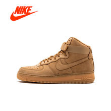 huge discount e1640 3eb1b Original Nike Air Force 1 AF1 Men s Breathable Skateboard Sports Outdoor  High-top Sports Shoes