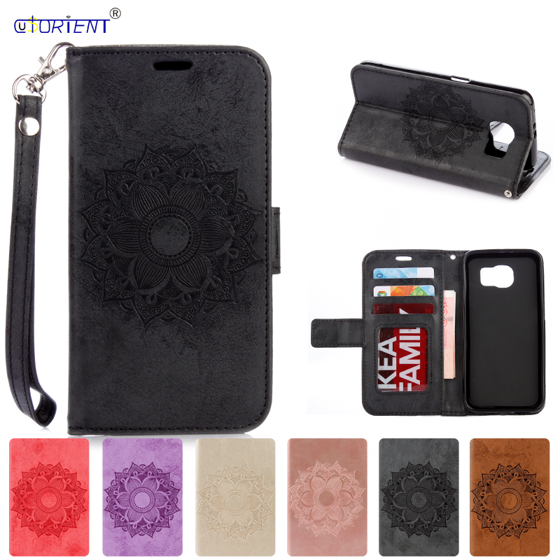 Flip Case for <font><b>Samsung</b></font> Galaxy <font><b>S6</b></font> Cover S 6 <font><b>G920F</b></font> G920FD G920I G920W8 <font><b>SM</b></font>-G920W8 <font><b>SM</b></font>-<font><b>G920F</b></font> <font><b>SM</b></font>-G920FD <font><b>SM</b></font>-G920I Phone Leather Cases image