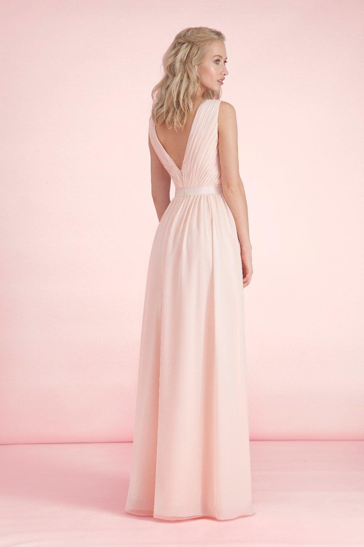 Impresionante Vestido de Fiesta Elegante de La Manera Simple Rosa ...