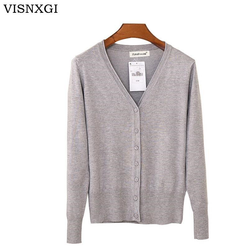VISNXGI Autumn Cardigan Women Casual Sweet Crochet Knitted Blouse Long-sleeve Tops Women Regular Sweaters Cardigans High Quality