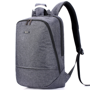 Polyester Pocket Zipper Backpack