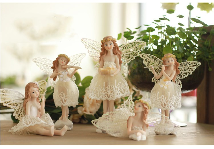 SuDoll Cute angel Family Christmas Friends Girl Resin Doll for Child Gift image