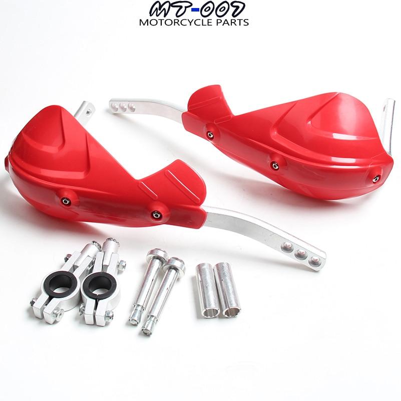 Motocicleta Motocross Guiador handguards Mão Guardas Fit CR CRF YZF KXF EXC SF 7/8