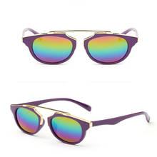 fd0aacd39d MUQGEW 7 Colors Anti-UV Glasses Chlidren Kids Boys Goggle Baby Sunglasses  Girls Bow New