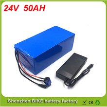 24V 50AH Portable Lithium Battery Electric Bicycle Scooter 24V 1200W Solar battery Battery Lithium-ion ebike For Samsung cell