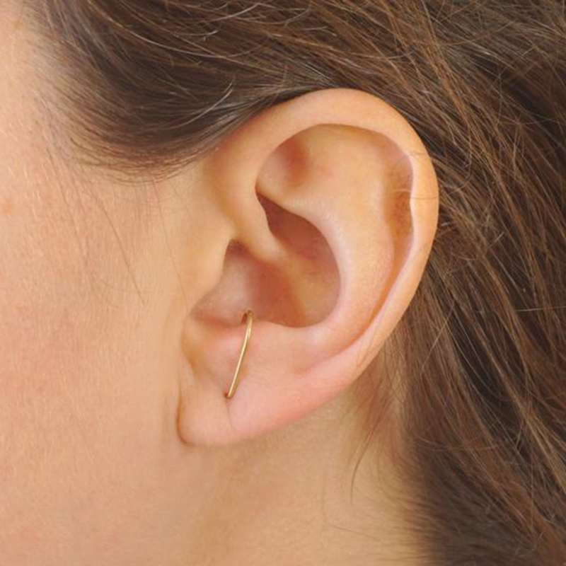 925 Silver Earrings Gold Filled Jewelry Handmade Studs Earrings Minimalist Oorbellen Boho Earrings For Women