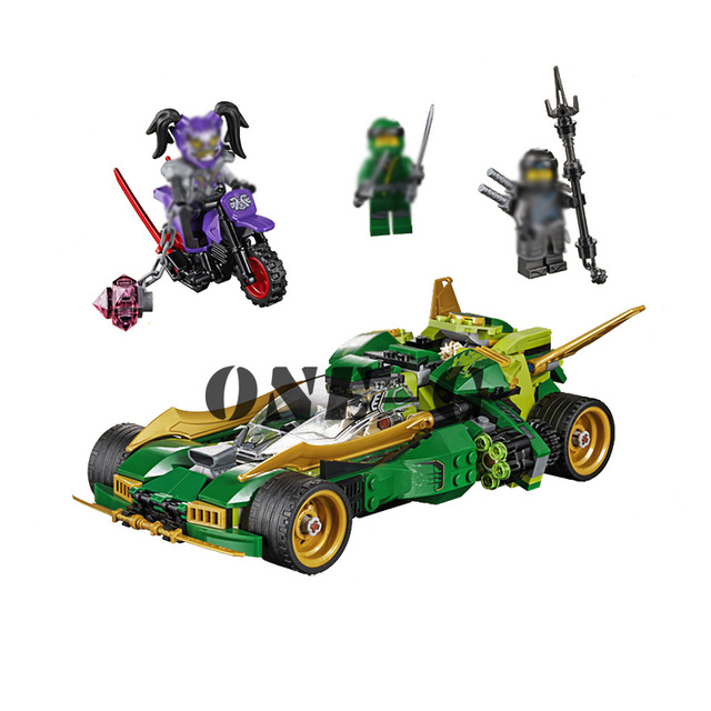 Compatible With Lego Ninjago 70641 Building Blocks 06076 618pcs