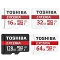 TOSHIBA Карта Micro Sd 64 ГБ Class 10 SDXC 16 ГБ/32 ГБ/128 ГБ UHS-1 U3 90 М/С Карты Памяти TF Флэш-КАРТЫ Памяти Microsd для смартфон
