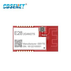 Image 2 - SX1280 500 mW LoRa Modulo BLE 2.4 GHz Wireless Transceiver E28 2G4M27S SPI A Lungo Raggio 2.4 ghz BLE Trasmettitore rf 2.4 GHz Ricevitore