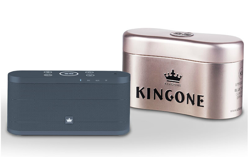 With Retail Box K9 Bluetooth Speaker Stereo music Bluetooth Wireless Portable Speaker Support TF Card FM Radio For Phone Tablet mrice campers 2 0 bluetooth speaker portable music box