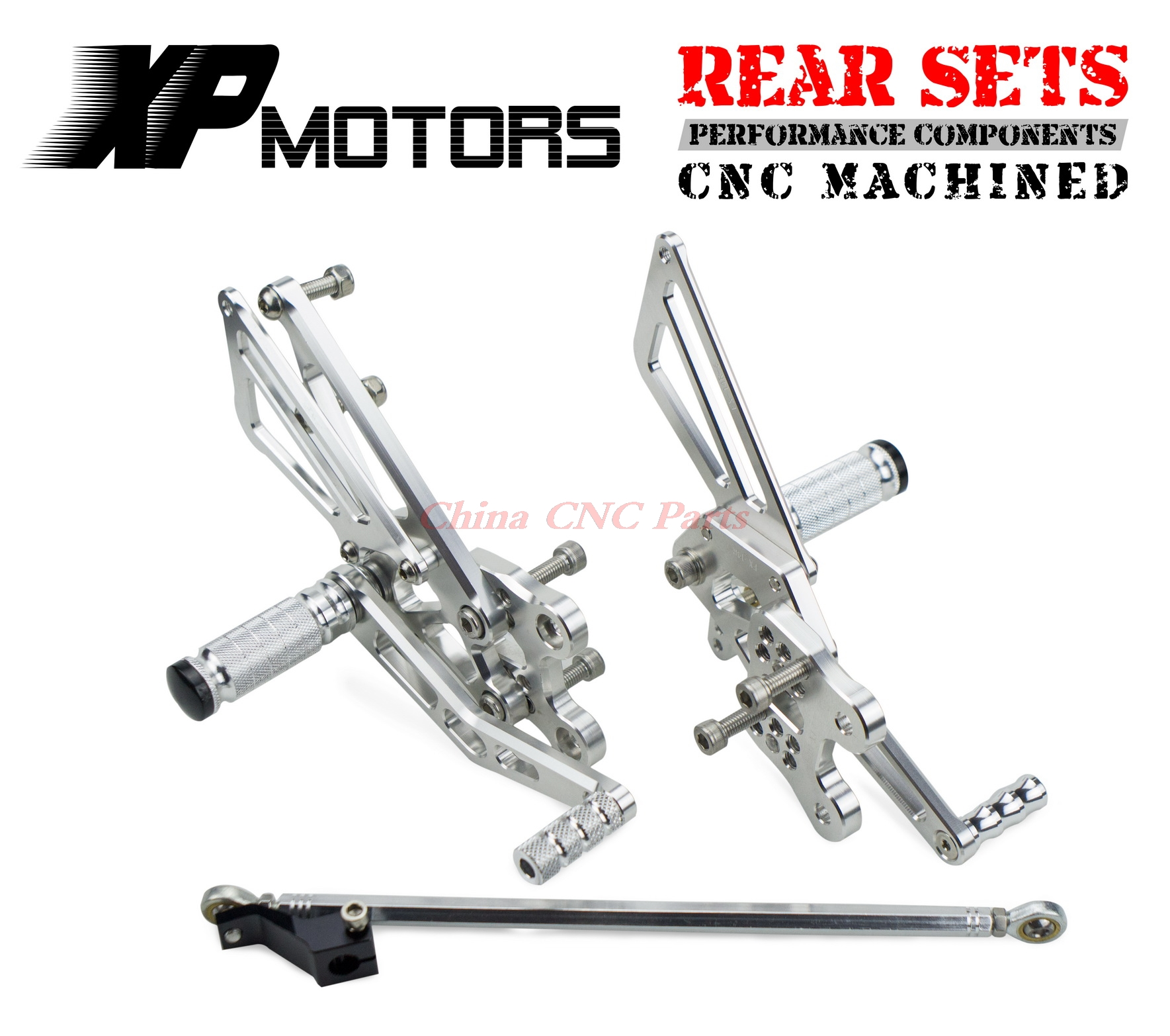 Nicecnc Adjustable Foot Pegs Racing Rearset Rear Set