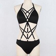 Overall underwear women Bandage Bralette Bustier Crop Top Sh