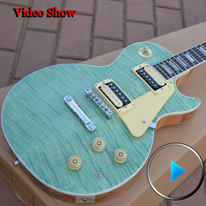 guitar Classic Seafoam Green 2015 high quality complete electric guitar free shipping
