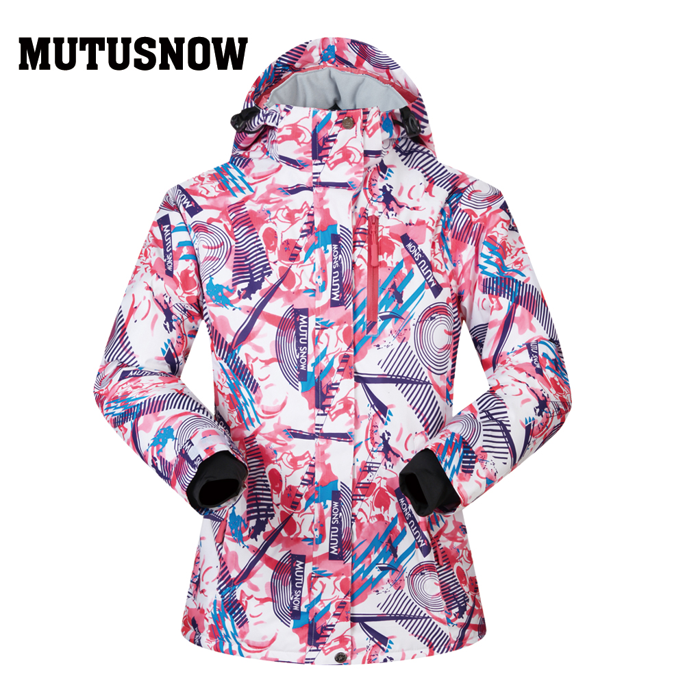 Snowboard femmes veste marques haute qualité Ski hiver coupe-vent imperméable chaleur chaude femme manteau neige hiver Ski veste femmes