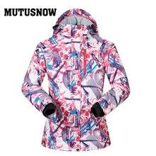 Snowboard Women Jacket Brands High Quality Ski Winter Windproof Waterproof Warmth Warm Female Coat Snow Winter Ski Jacket Women