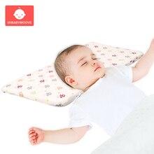 Memory Foam Baby Sleeping Pillow Newborn Soft Bedding Feeding Pillows Cushion Pad Removable Breathable Sleep Nursing