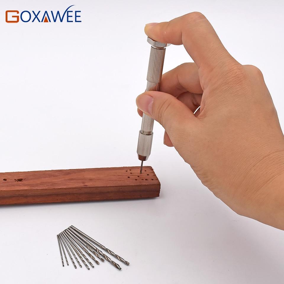 Vysoce kvalitní mini mikrohliníková ruční vrtačka s - Vrták - Fotografie 4