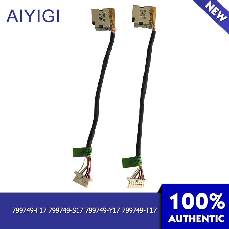 AIYIGI 100 Brand New Power Cable Original For HP Pavilion 15 AB 15 AK 15T AB 15T AK 15Z Power Cable Laptop Accessories in Computer Cables Connectors from Computer Office