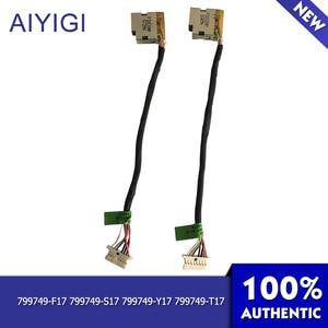 AIYIGI 100% Brand New Power Cable Original  For HP Pavilion 15-AB 15-AK 15T-AB 15T-AK 15Z Power Cable Laptop  Accessories