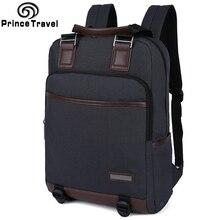 Prince Voyage marque étanche sac à dos d'affaires hommes sacs d'école pour les adolescents étudiant garçons mochilas escolar voyage sac à dos