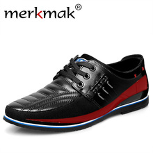 2019 Мужская обувь Размер 37-48 мужская обувь на плоской подошве высокое качество плюс размер повседневная обувь Мягкие Мокасины обувь Брендовая Роскошная Высокая кожаная обувь