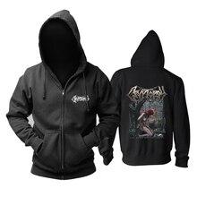 5 projetos cryptopsy rock marca agradável macio quente zíper hoodies moletom morte metal sudadera escudo jaqueta velo outerwear