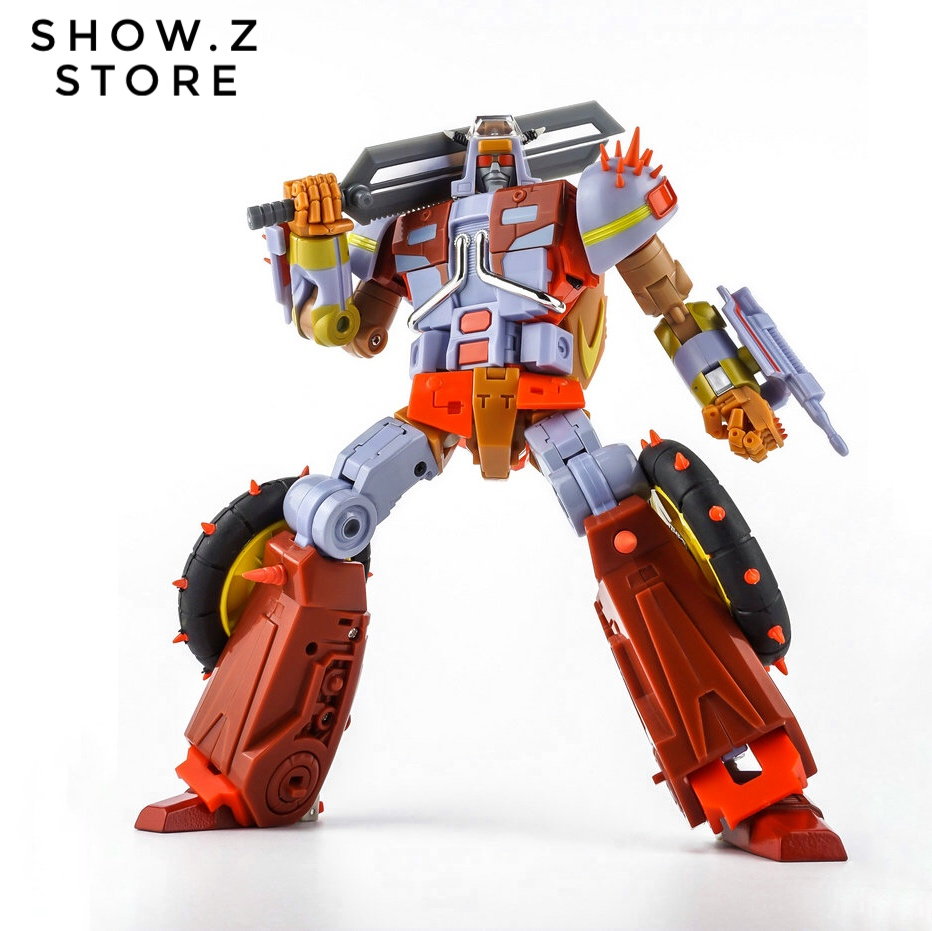 [Show.Z Store] KFC Toys E.A.V.I. Metal Phase 6B Dumpyard Junkyard Edition Transformation Action Figure насос arderia cp3 20 6b