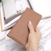 Women Wallet Long Purse for Female Retro Style Card Holder Coin Purse Fashion Lady Clutch Handbag porte feuille femme