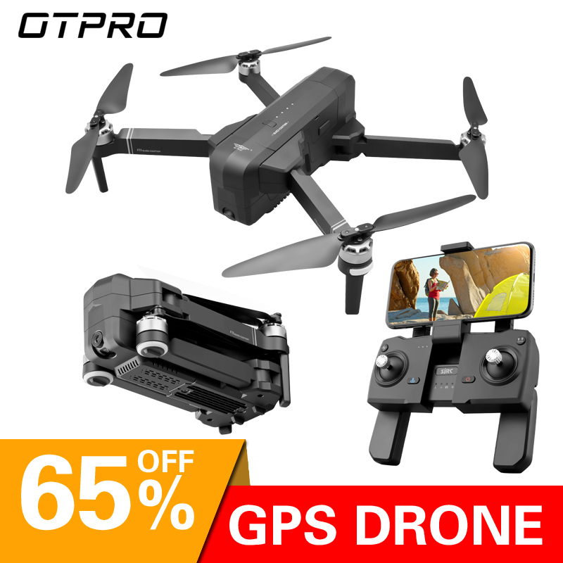 OTPRO dron Gps Drones with 4K wifi Camera HD profissional RC Plane Quadcopter race helicopter follow me racing rc Drone toys image