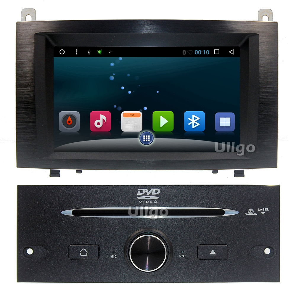 7 inch android 6 0 car head unit for peugeot 407 2004 2010 autoradio gps with rds bt mirrior. Black Bedroom Furniture Sets. Home Design Ideas