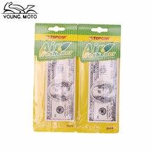 20 pcs Hanging Paper Perfumed Hanging Car Air Freshener Vehicle Standard Scented Lasting Fragrance Random Scent