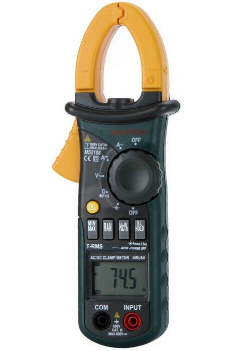 Mastech ms2108 6600 contagens medidor de braçadeira
