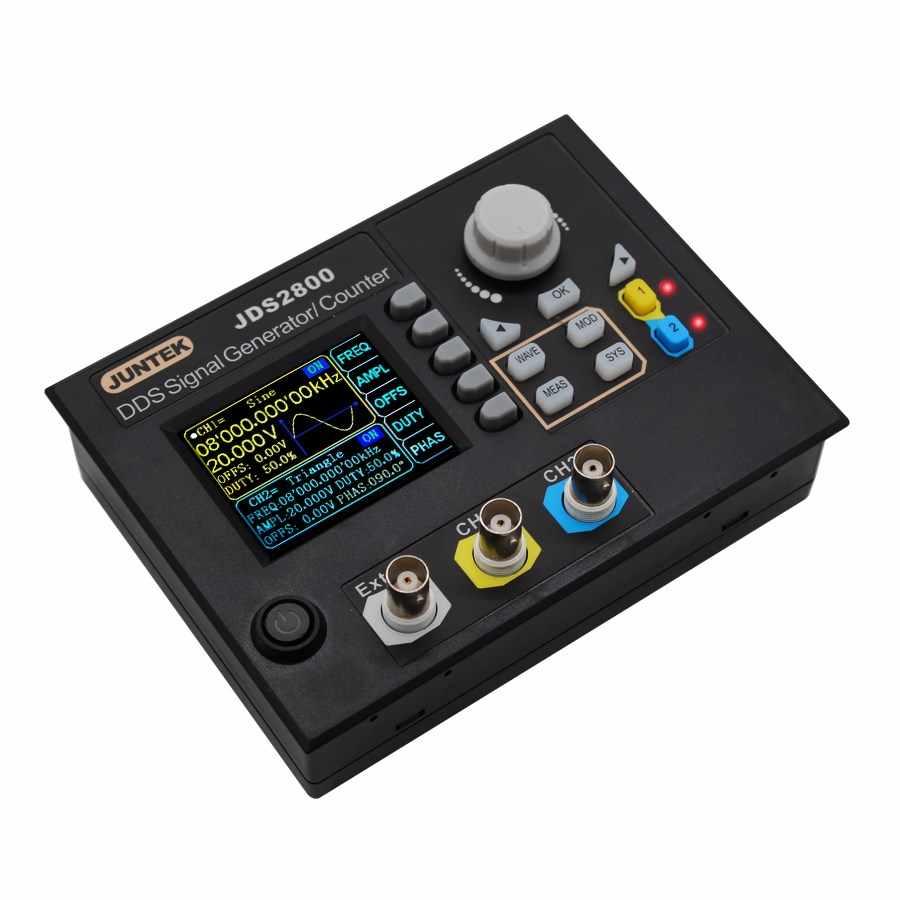JUNTEK JDS2800-60M 60MHZ Máy Phát Tín Hiệu Điều Khiển Kỹ Thuật Số Đôi máy DDS Chức Năng Máy Phát Tín Hiệu tần số đồng hồ 40%
