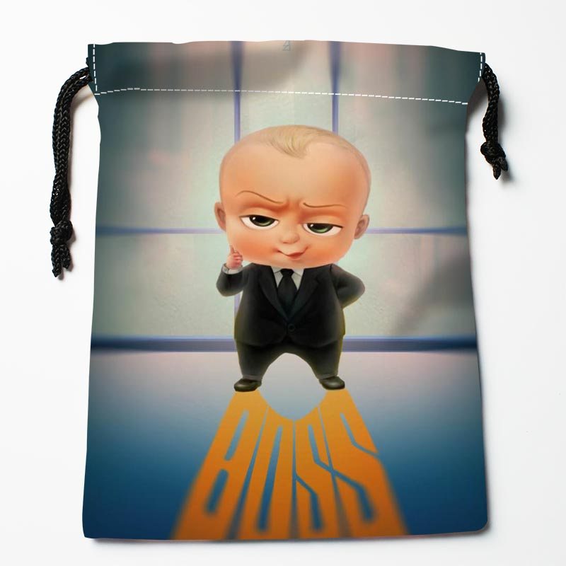 Custom The Boss Baby Drawstring Bags Custom Storage Bags Storage Printed Gift Bags More Size 27x35cm Compression Type Bags