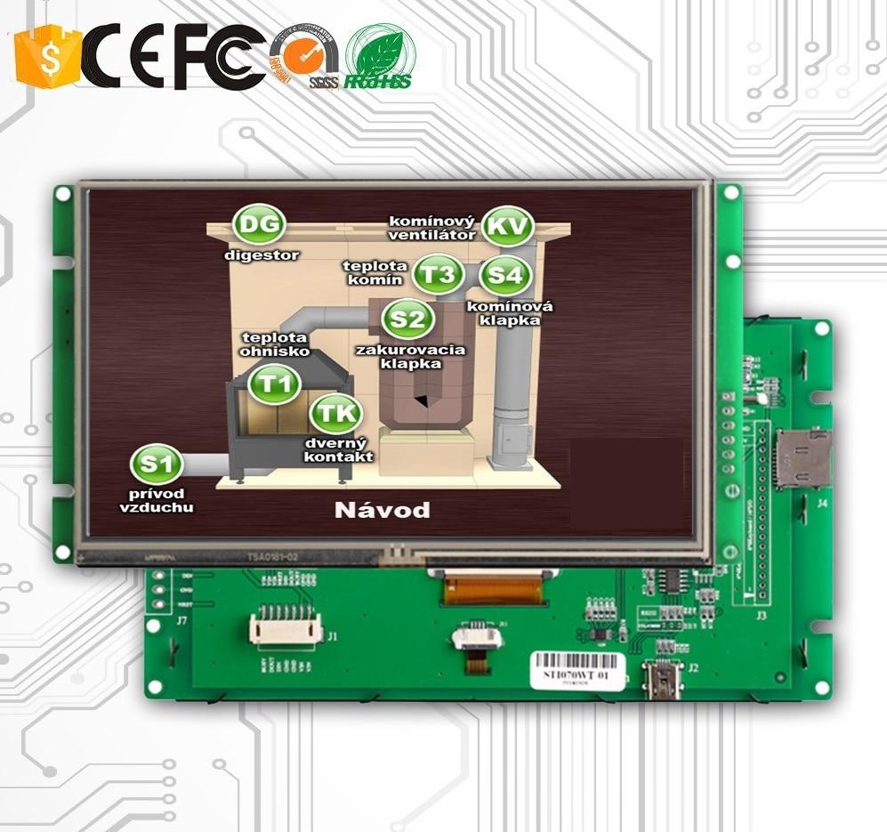 LCD Da 3.5 Pollici Con Piccolo Monitor LCD E Interfaccia RS232LCD Da 3.5 Pollici Con Piccolo Monitor LCD E Interfaccia RS232