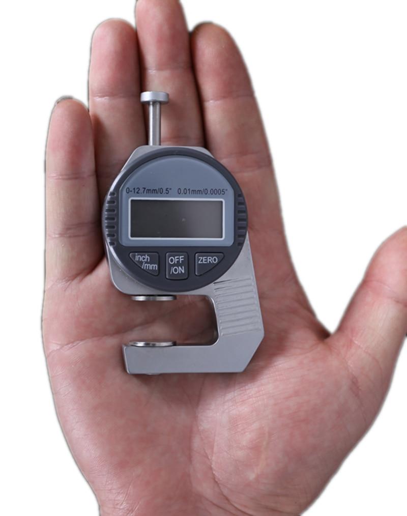 Medidor de espesor de Dial electrónico portátil Mini, medidor de Medidor De Espesor Digital de 0,01mm, herramienta de medida de 12,7mm, medidor de calibre de Dial Edredón de seda de morera 100% para invierno/verano cálido y cómodo manta gruesa de Invierno varias opciones de Color edredón