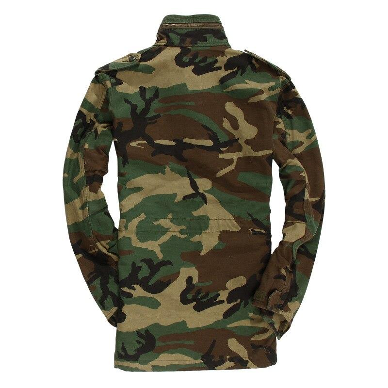 Erkek Kıyafeti'ten Ceketler'de Erkek Ceket Ordu Klasik Havadan Bölümü Rüzgarlık erkek Orman Kamuflaj Ceket Ordu Askeri Fanlar Taktik Ceket'da  Grup 2